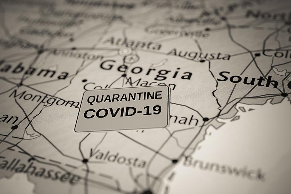 Quedate en Casa - Medidas a Seguir en Georgia