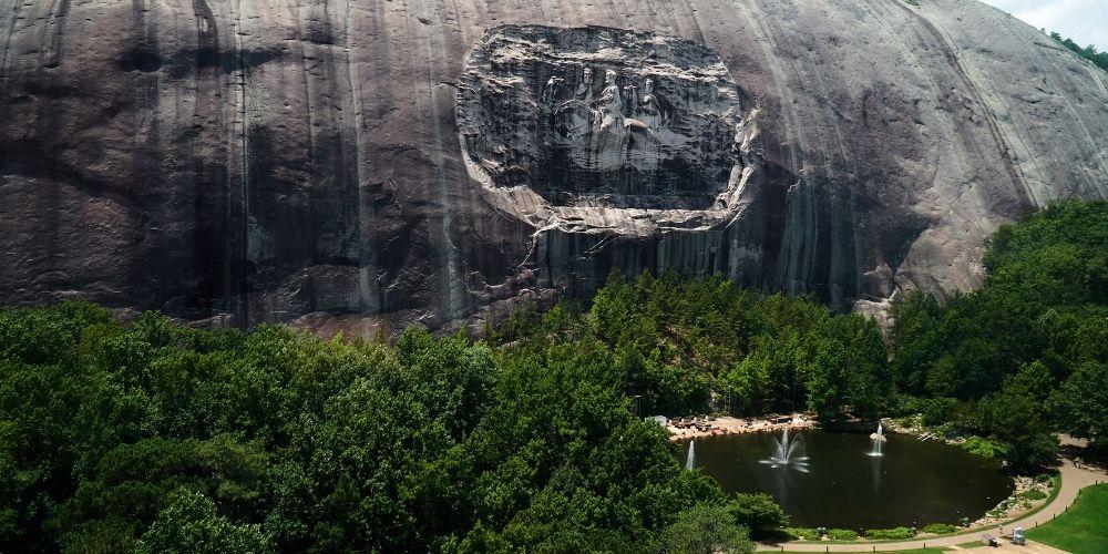 Parque Stone Mountain en Georgia