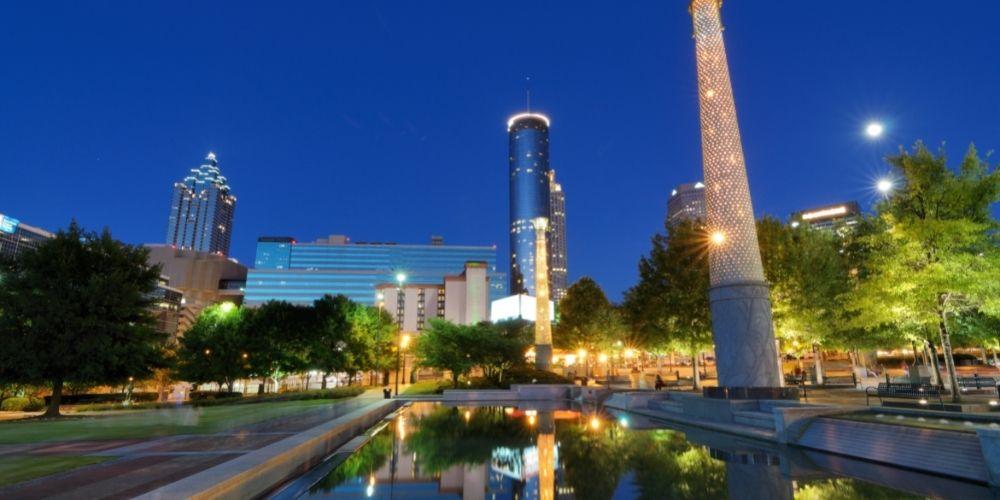 Visita el Parque Olimpico Centenario en Atlanta